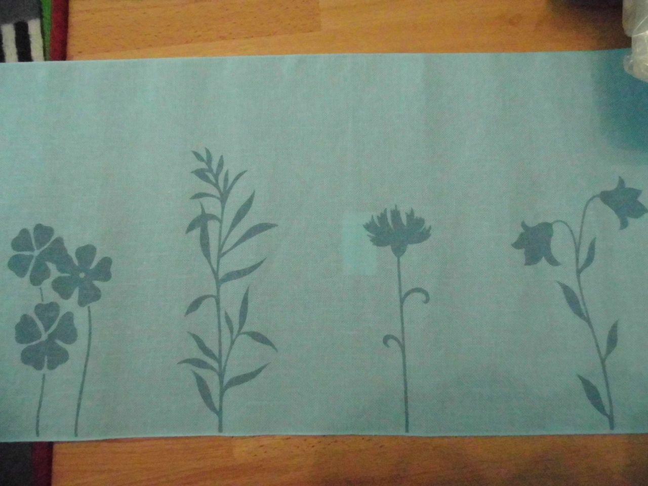 Virágmintás Rico 30 cm