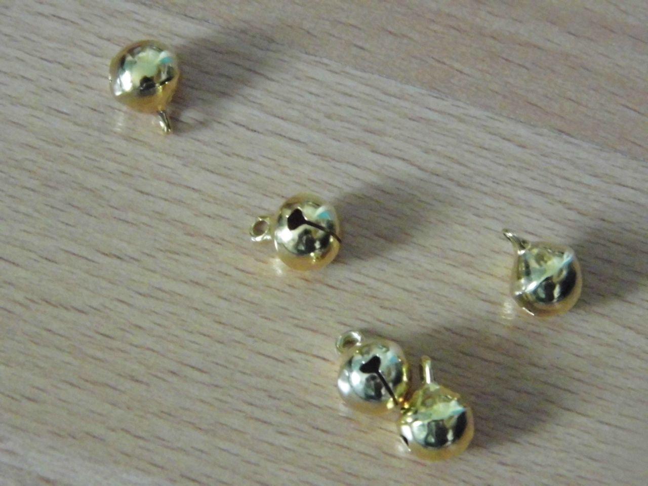 Arany csengő 10 mm