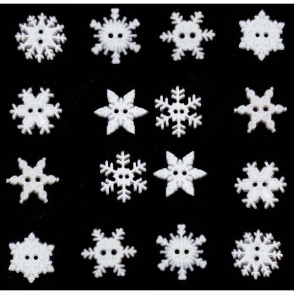 Sew-thru Snowflakes