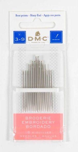 DMC hegyes tű készlet 3-9