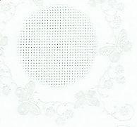 Fehér damaszt anyag - 140 cm széles